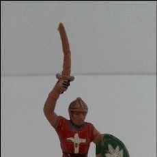Figuras de Goma y PVC: CRUZADO MEDIEVAL. REAMSA, AÑOS 60. Lote 61254887