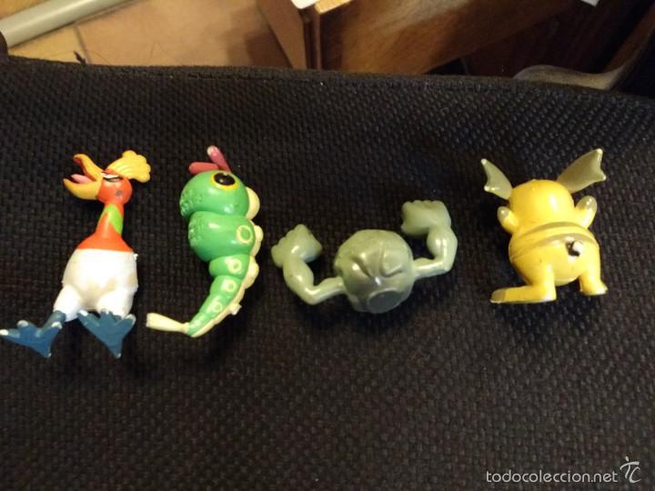 Figuras de Goma y PVC: Lote figuras pokemon Tomy 1997: CATERPIE, ROCA, etc - Foto 3 - 61313095