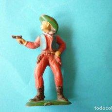 Figuras de Goma y PVC: FIGURA VAQUERO 54MM. Lote 61502227