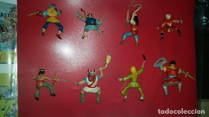 Figuras de Goma y PVC: ESTEREOPLAST COLECCION 8 FIGURAS E IVAN SANKARA SING LI KVEI PLUMITA SIGRID GOODFRED CAPITAN TRUENO - Foto 2 - 61670044