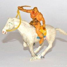 Figuras de Goma y PVC: ESTEREOPLAST - KARAKAN, EN PLÁSTICO, CIRCA 1960. Lote 61743784