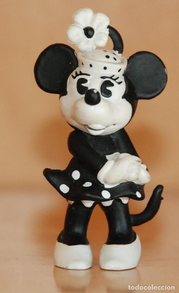 FIGURA MINNIE MINIE MOUSE WALT DISNEY PRODUCTIONS BULLY GERMANY 1984 (Juguetes - Figuras de Goma y Pvc - Bully)