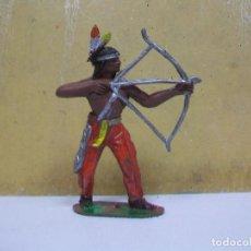 Figuras de Goma y PVC: FIGURA INDIO COMANSI - INDIO DE COMANSI. Lote 62029844