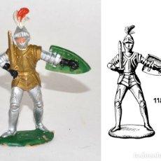 Figuras de Goma y PVC: CABALLERO DE LA MARCA REAMSA EN PLÁSTICO, Nº 118 DEL CATÁLOGO, CIRCA 1960. Lote 62086016
