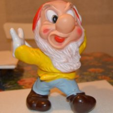 Figuras de Goma y PVC: MUÑECO GRANDE ENANITO GRUÑON - WALT DISNEY PRODUCTIONS. Lote 62095440