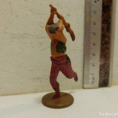 Figuras de Goma y PVC: OESTE VAQUERO GAMA EN GOMA. Lote 62109168