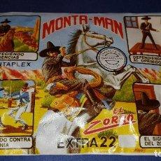 Figuras de Borracha e PVC: MONTAPLEX EL ZORRO. Lote 62178712