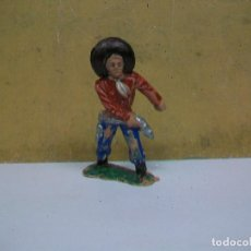 Figuras de Goma y PVC: FIGURA VAQUERO PECH HERMANOS - OLIVER - FIGURA DE HERMANOS PECH. Lote 62226076