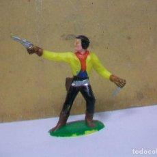 Figuras de Goma y PVC: FIGURA VAQUERO SOTORRES - FIGURA DE MARIANO SOTORRES. Lote 62226244