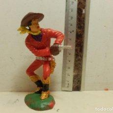 Figuras de Borracha e PVC: PRECIOSA FIGURA DE VAQUERO TRAMPERO OESTE 11 CM LAFREDO. Lote 62261068