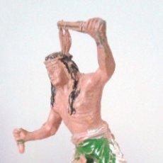 Figuras de Goma y PVC: FIGURA INDIO - REAMSA AÑOS 50. Lote 62271328