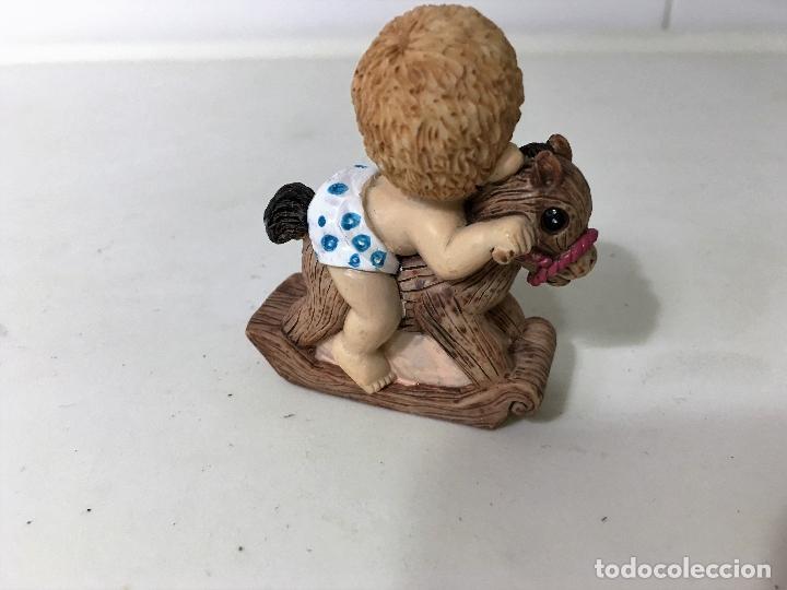Figuras de Goma y PVC: BEBE en caballito - Foto 2 - 62357540