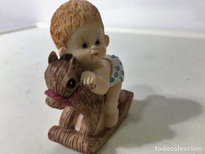 Figuras de Goma y PVC: BEBE en caballito - Foto 4 - 62357540