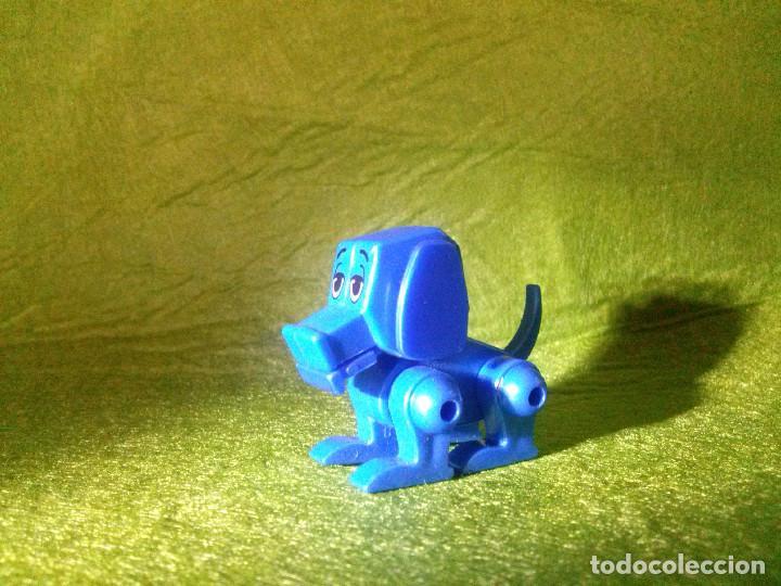 Figuras de Goma y PVC: figura perrito movible___4x3 cm - Foto 3 - 62446688