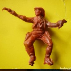 Figuras de Goma y PVC: FIGURA VAQUERO PLASTICO 54MM. Lote 63135536
