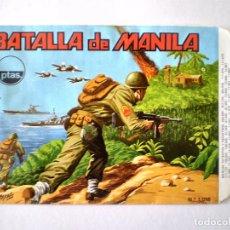 Figuras de Goma y PVC: SOBRE MONTAPLEX Nº 1016 BATALLA DE MANILA - NUEVO VACIO NUNCA RELLENADO. Lote 62673544
