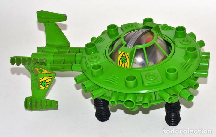 Figuras de Goma y PVC: BRITAINS SPACE - NAVE ALIENS COMPLETA, CON 2 Stargard Flight Buggy Y DIVERSOS ACCESORIOS, © 1982 - Foto 3 - 62807760