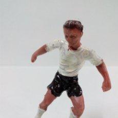 Figuras de Goma y PVC: JUGADOR DE FUTBOL DEL VALENCIA . JECSAN . AÑOS 60. Lote 62993988