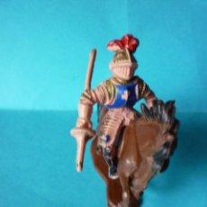 Figuras de Goma y PVC: CABALLERO MEDIEVAL 45MM PLASTICO. Lote 63010764