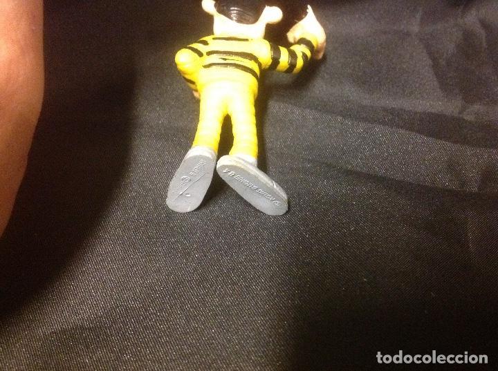 Figuras de Goma y PVC: Figura pvc Dalton LUKY LUKE Schleich Morris Dargaud 84 6 cm desde los pies a la cabeza - Foto 4 - 63024504