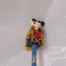 Figuras de Goma y PVC: FIGURA PVC MICKEY CON LAPIZ - ORIGINAL DE BULLYLAND. Lote 86656376