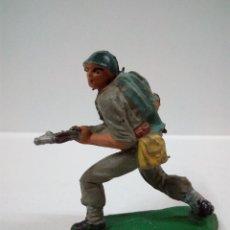 Figuras de Goma y PVC: SOLDADO AMERICANO . PECH . AÑOS 50 EN GOMA. Lote 63370784