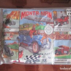 Figuras de Goma y PVC: MONTAPLEX-MONTA MAN- NUMERO EXTRA 17-COCHES ANTIGUOS-AÑOS 80. Lote 63374068