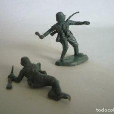 Figuras de Goma y PVC: FIGURAS SOLDADOS ALEMANES 45MM. Lote 63393660