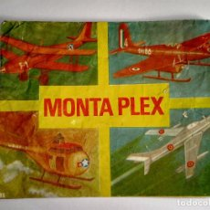 Figuras de Goma y PVC: CURIOSO SOBRE MONTAPLEX - HOBBY PLAST Nº 401 - CON DEFECTO DE IMPRESIÓN - VACIO - RAREZA. Lote 63409060