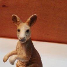Figuras de Goma y PVC: C62 FIGURA SERIE ANIMALES CANGURO HEMBRA CON CRIA 10X10CM 2000. Lote 63410267