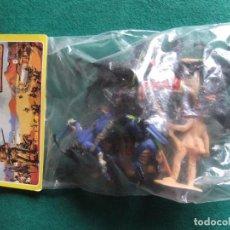 Figuras de Goma y PVC: COMANSI DAVY CROCKETT HEROE DEL ALAMO BOLSA SIN ABRIR. Lote 63533864
