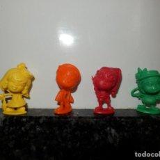 Figuras de Goma y PVC: LOTE DE FIGURAS DUNKIN CABEZONES PORFIRIA PIRULA PAULINA PROVETA BRUNO BICHO Y MIGUEL MABIGAS. Lote 63552132