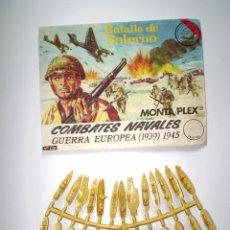 Figuras de Goma y PVC: MONTAPLEX SOBRE Nª 120 BATALLA DE SALERNO VACIO + 1 COLADA DE MINI BARCOS COMPLETA. Lote 227754820