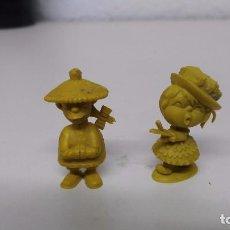 Figuras de Goma y PVC: LOTE DE 2 DUNKIN ANTIGUOS . Lote 63578612