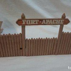 Figuras de Goma y PVC: PARTE DEL FORT-APACHE DE COMANSI. Lote 63665471