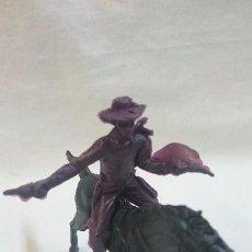 Figuras de Goma y PVC: VAQUERO A CABALLO PIPERO. Lote 63972611