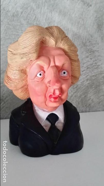 Figuras de Goma y PVC: Busto de goma Margaret Thatcher de spitting image - Foto 2 - 64121387