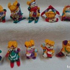 Figuras Kinder: SERIE COMPLETA CONEJOS 1998 KINDER. Lote 64322571
