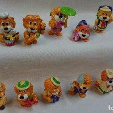 Figuras Kinder: SERIE COMPLETA LEONES 1993 KINDER. Lote 64322927