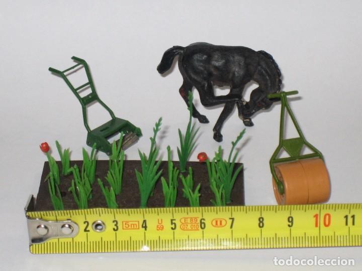 Figuras de Goma y PVC: LOTE CABALLO Y ACCESORIOS BRITAINS VARIAS ESCALAS - Foto 2 - 64336995