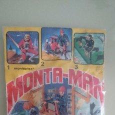 Figuras de Goma y PVC: SOBRE TRES EN UNO MONTAMAN, MONTAPLEX . Lote 64400631