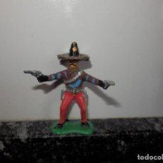 Figuras de Goma y PVC: OESTE MEXICANO MEJICANO MEJICO MEXICO OESTE PVC JECSAN CHARRO. Lote 64446543