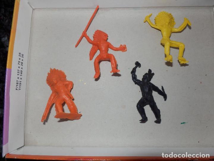 FIGURAS DE PVC INDIOS COMANSI PECH JECSAN MINIOESTE COMANSI MIN OESTE (Juguetes - Figuras de Goma y Pvc - Comansi y Novolinea)
