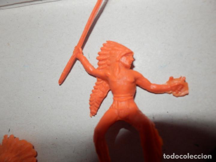 Figuras de Goma y PVC: figuras de pvc indios comansi pech jecsan minioeste comansi min oeste - Foto 3 - 64447263