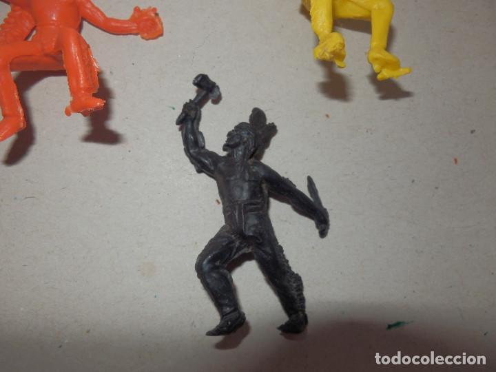 Figuras de Goma y PVC: figuras de pvc indios comansi pech jecsan minioeste comansi min oeste - Foto 5 - 64447263