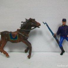 Figuras de Goma y PVC: FIGURA FEDERADO JECSAN - YANKEE DE JECSAN - FIGURA JECSAN . Lote 64518983