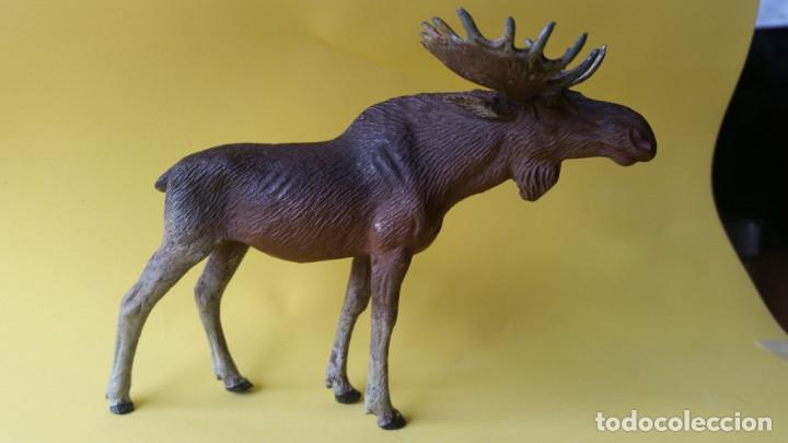ALCE LINEOL 1939 ZOO ANIMALES DEL BOSQUE (Juguetes - Figuras de Goma y Pvc - Otras)