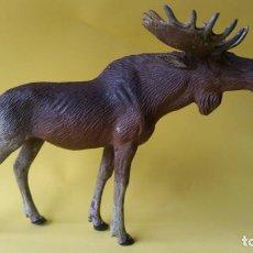 Figuras de Goma y PVC: ALCE LINEOL 1939 ZOO ANIMALES DEL BOSQUE. Lote 64539715