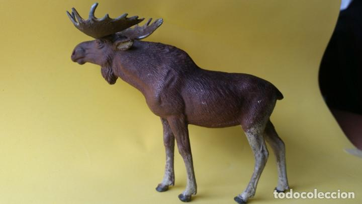Figuras de Goma y PVC: ALCE LINEOL 1939 ZOO ANIMALES DEL BOSQUE - Foto 2 - 64539715