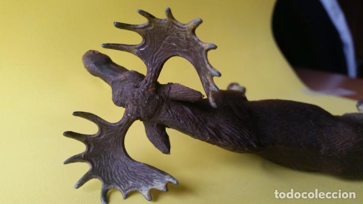 Figuras de Goma y PVC: ALCE LINEOL 1939 ZOO ANIMALES DEL BOSQUE - Foto 3 - 64539715